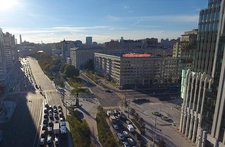 Улица Долгоруковская дом 5, Садовое Кольцо - внешняя сторона фото 4 (вид с высоты птичьего полета)