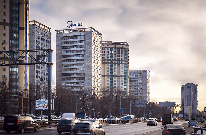 Реклама на крыше Midea - мировой производитель бытовой техники, фото 4