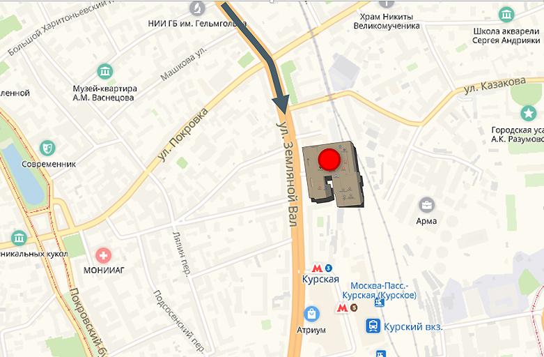 Земляной Вал, дом 9, внешняя сторона Садового кольца, фото 3 (карта)