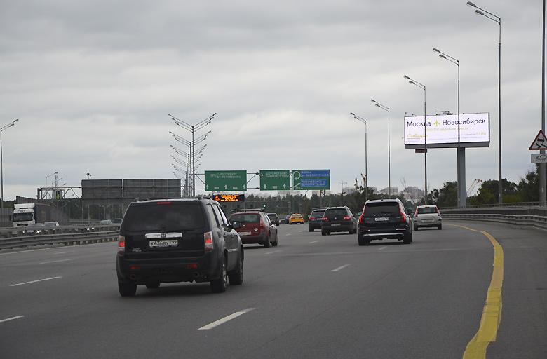 Трасса М11, «Москва-Санкт-Петербург», (0,5 км от МКАД) (А) из Москвы диджитал | digital экран 5х15 фото 4