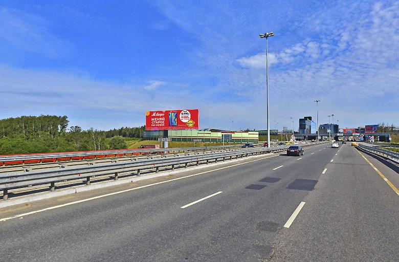 Международное шоссе, выезд с Аэропорта Шереметьево-2 (700м), сторона B Реклама на цифровом digital суперсайте 5х15