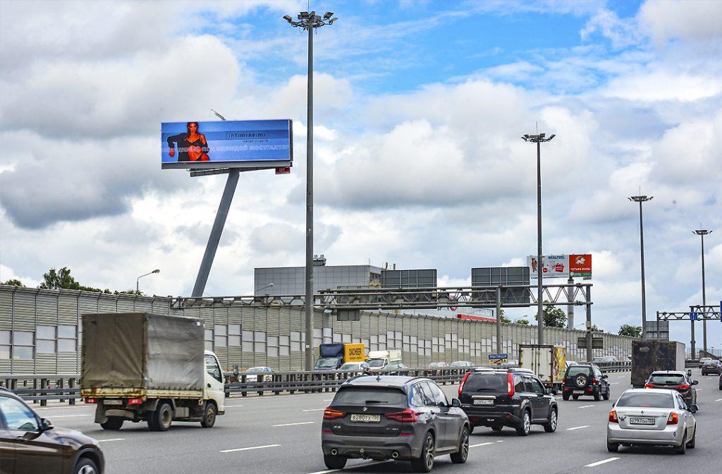Цифровой digital суперсайт 5х15 Ярославское шоссе , М8 «Холмогоры», 17км., (0,65 км. от МКАД) (B) из Москвы