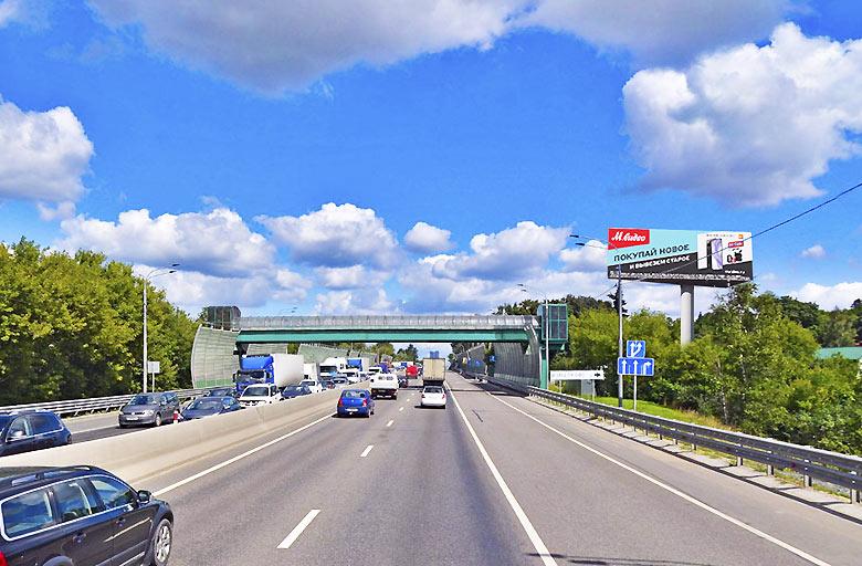 Минское шоссе, М1, 22 км. (5 км. от МКАД слева) (А) в Москву