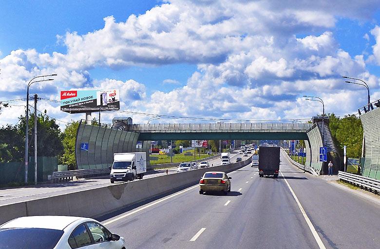 Минское шоссе, М1, 22 км. (5 км. от МКАД слева) (B) из Москвы (статика)
