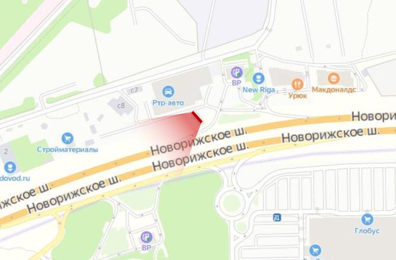 М9 Новорижское шоссе 22 км., (5 км., от МКАД справа) (B) в Москву