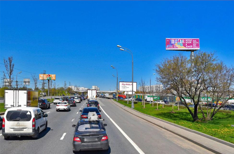 М2 Варшавское шоссе, съезд на МКАД в Москву (А)