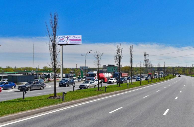 М2 Варшавское шоссе, съезд с МКАД из Москвы, (B) (статика)