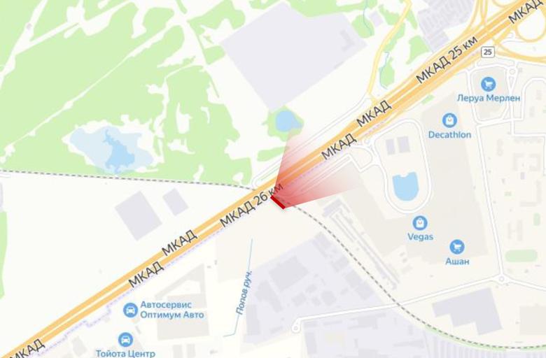 МКАД 25 км., М4 Дон - Каширское ш., (А) внешнее