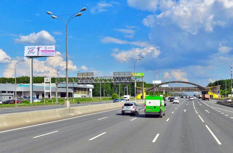 МКАД 95 км., съезд c Ярославского ш., в сторону Щелковское ш. (B) внешнее (статика)