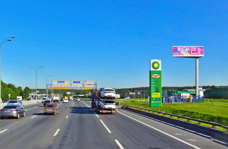 МКАД 102 км. +915 м. от Щелковское ш. - Ярославское ш. (А) внешнее